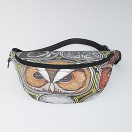 Owls Fanny Pack