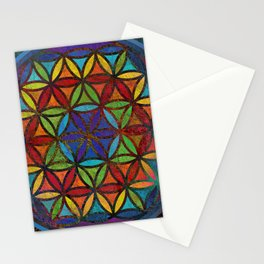 The Flower of Life (Sacred Geometry) 3 Stationery Cards