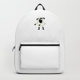 Floss Dance Move Sheep Backpack