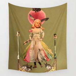 Old animal doll Wall Tapestry