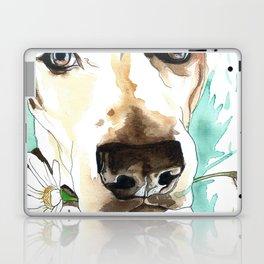 Watercolor Wildflowers & her Bestie Laptop & iPad Skin