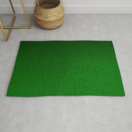 Emerald Green Ombre Design Rug