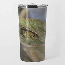 Wild Chameleon In Green Shades Travel Mug