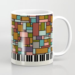 The Well-Tempered Clavier - Bach Coffee Mug