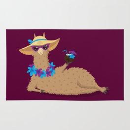 Bahama Llama Rug