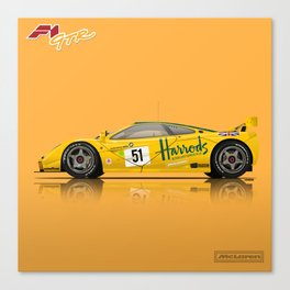 McLaren F1 GTR #06R - 1995 Le Mans 3rd Place Finisher Canvas Print