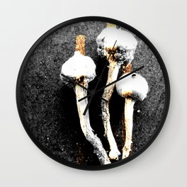Drei Fungi — Icons & Relics. Wall Clock