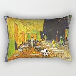 Snoopy meets Van Gogh Rectangular Pillow