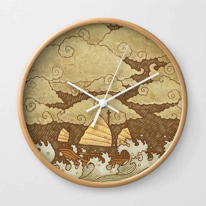 Tempest  Wall Clock