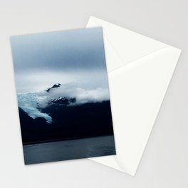 Mendenhall Glacier from boat Stationery Cards