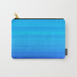 Blue Sea Stripes Carry-All Pouch