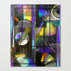 CDs Canvas Print