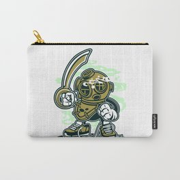 Retro Diver Carry-All Pouch