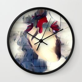 Mathematic heart Wall Clock