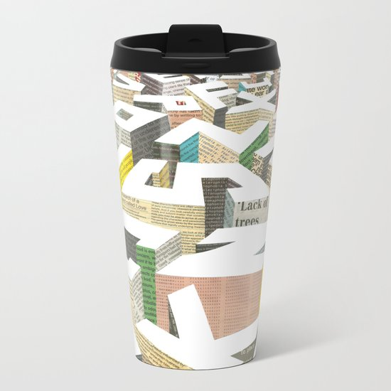The Capital Metal Travel Mug