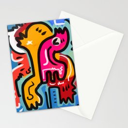 The Life Force Pop Art Graffiti Stationery Cards