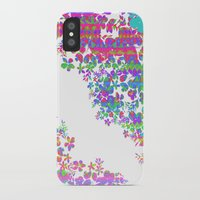 fringe iPhone & iPod Cases featuring Fringe Floral by Ruby Valderama