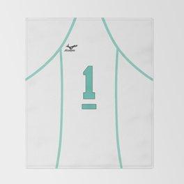 Oikawa's Jersey Throw Blanket