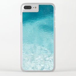 Clear Water Clear iPhone Case