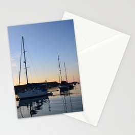 Tranquil Moorings In The Isles Of Scilly. Stationery Cards