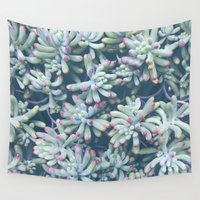 plant Wall Tapestries featuring Plant by Unamoric