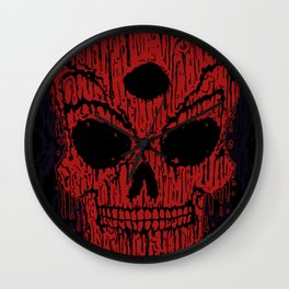 The Bloody Bloodskull of Blood Wall Clock