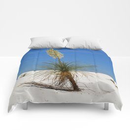 Living In The White Sand Dunes Comforters