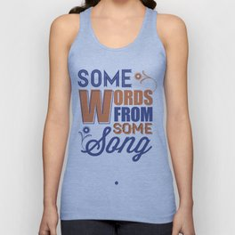 Some Song Unisex Tank Top