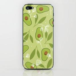 Happy Avocados iPhone Skin