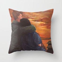 COZY DESTIEL Throw Pillow