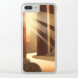 Redwoods Clear iPhone Case