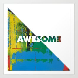 Color Chrome - Awesome graphic Art Print