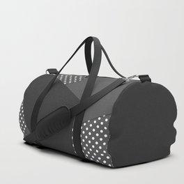 Grey abstract abstract Duffle Bag