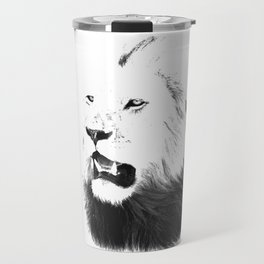 Lion Portrait, Lions of the Masai Travel Mug