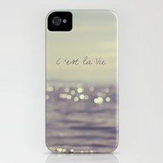 C'est la Vie iPhone (4, 4s) Slim Case