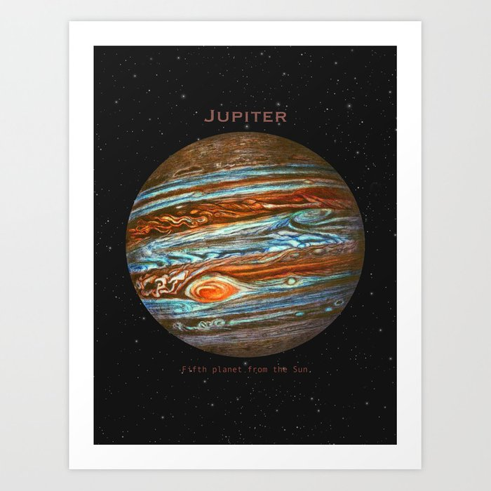 Jupiter Art Print By Igo2cairo Society6