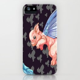The Impossibility of Spring iPhone Case