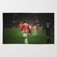 ronaldo Area & Throw Rugs featuring Ronaldo by Shyam13