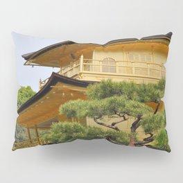 Temple of the Golden Pavillion Pillow Sham