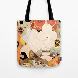 Educating a Poodle Tote Bag