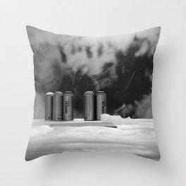 Paint Fireworks, 2011 Throw Pillow
