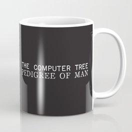 The Computer Tree Pedigree of Man Coffee Mug