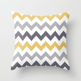 Touch Of Mustard Throw Pillow
