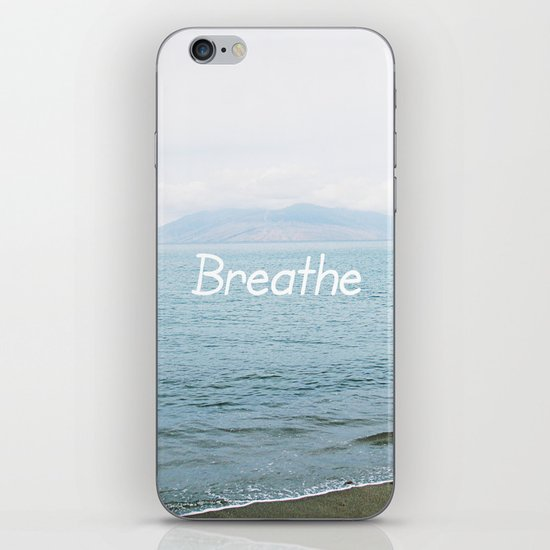 Take a moment and ... iPhone & iPod Skin