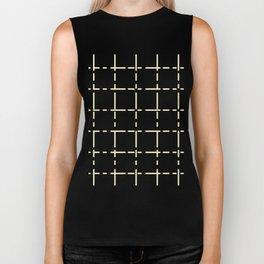 Modern line decor on black background #society6 #decor #buyart #artprint Biker Tank