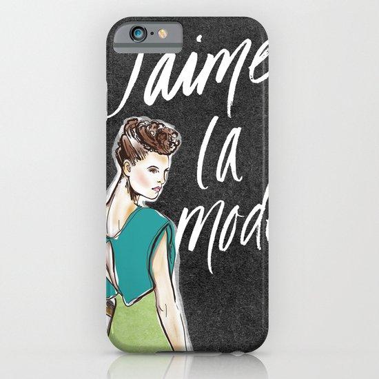 I Love Fashion iPhone & iPod Case