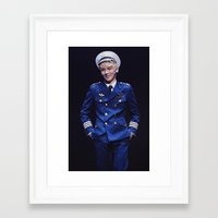 shinee Framed Art Prints featuring Key - SHINee by Felicia