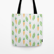 Peas and Carrots Tote Bag