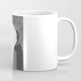 White Vintage Auto Front End Coffee Mug