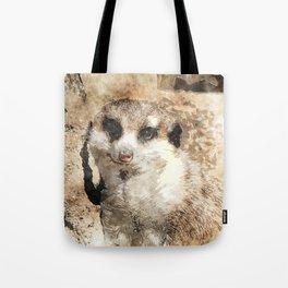 Art Studio 19216 Meerkat Tote Bag